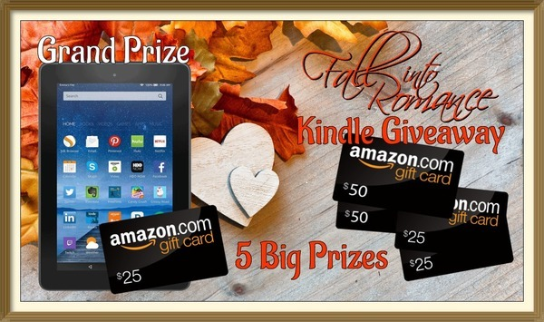 Fall Into Romance Kindle Giveaway